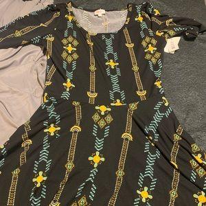 Large Lularoe Nicole Dress